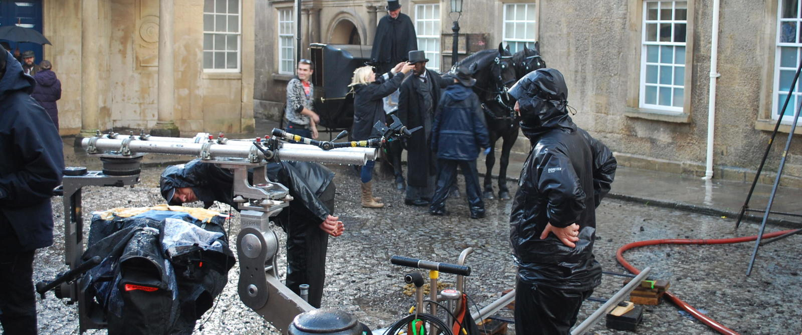 image:filming in Hot Bath Street