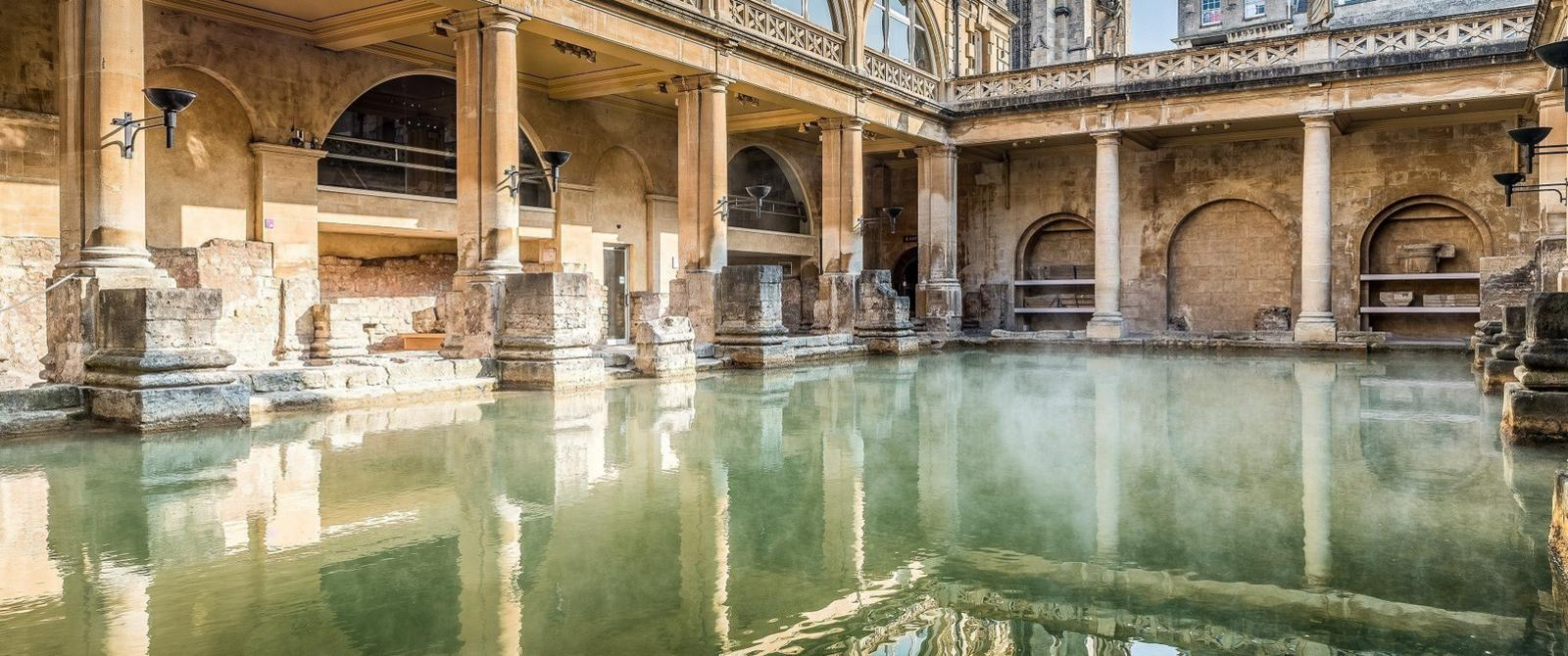 Image: The Great Bath at the Roman Baths