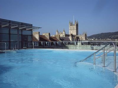 image:Thermae Spa, roof top pool