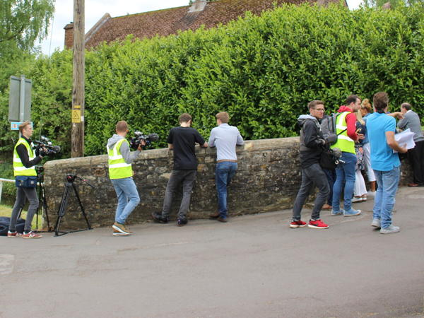 image:filming in Chew Magna